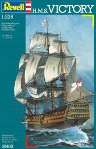 Klijuojamas modelis REVELL 05408 1/225 Sailship H.M.S. Victory Klijuojami modeliai vaikams