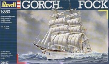 Klijuojamas modelis REVELL 05457 1/350 Ship Gorch Fock Klijuojami modeliai vaikams