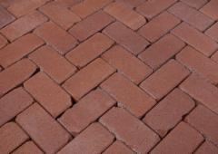 Klinkerinės grindinio trinkelės 'ABC klinker' altfarben-bunt-geflammt 240x150x52
