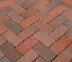 Clinker pavers 'ABC klinker' Antik 200x100x52