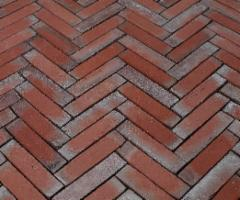 Clinker pavers 'ABC klinker' Berlin blau-anthrazit 200x100x52 Clinker pads