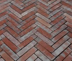 Clinker pavers 'ABC klinker' braun - nuanciert