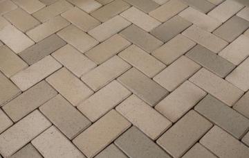 Klinkerinės grindinio trinkelės Penter 'Husum Gelbbunt' 200x100x45