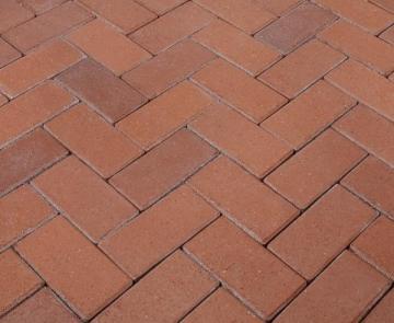 Klinkerinės grindinio trinkelės Penter 'Penter Rot' 200x100x52