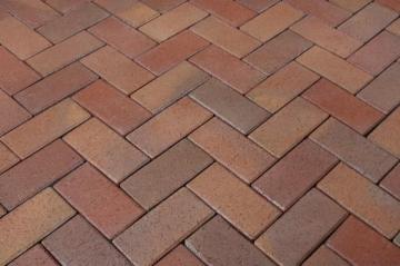 Klinkerinės grindinio trinkelės Penter 'Florenzbunt' 200x100x52