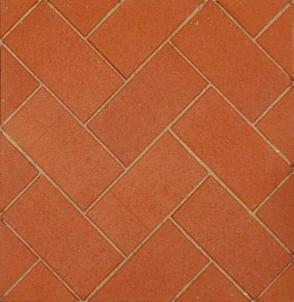 Klinkerinė grindinio trinkelė Penter STT raudona Kare 200x100x45 Klinkerio trinkelės