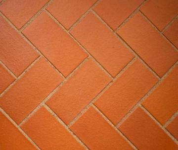Klinkerinė grindinio trinkelė Penter STT raudona lygi 200x100x52