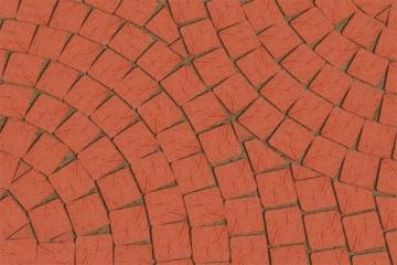 Klinkerinės grindinio trinkelės Lode MOZAIKA raudonos Klinkerio trinkelės