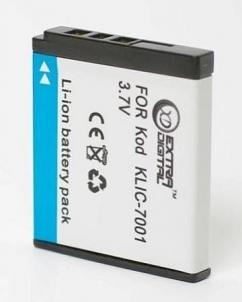 Kodak, baterija KLIC-7001 Camera chargers/batteries