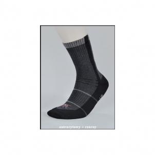 Kojinės OUTDOOR MOSQUITOSTOP prieš uodus ir erkes juodos Taktiniai, termoaktyvūs apatiniai drabužiai