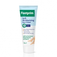 Kojų kremas Lavena Smooth moisturizing foot cream with Footprim Footprim (Soft Moisturizing Foot Cream) 75 ml Kojų priežiūros priemonės