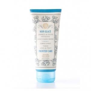 Kojų kremas Panier des Sens Refreshing Foot Cream with Seaweed Extract (Frosted Care ) 100 ml Kojų priežiūros priemonės