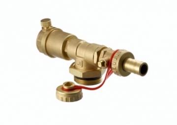Kolektoriaus galinė sekcija FHF-EA su automatiniu nuorintoju ir drenažu Heating systems management