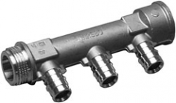 Kolektorius UPONOR QE 3/4 VSxIS, 16-4 atšakos Non-adjustable manifolds
