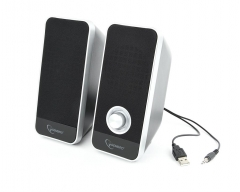 Kolonėlės Gembird Desktop Multimedia Stereo Speakers set 2.0 Tornado, RMS 6W, black