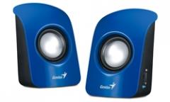 Kolonėlės Genius SP-U115, mėlynos Garso kolonėlės