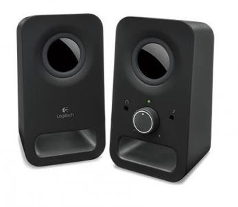 Kolonėlės Logitech Z150 Midnight Black Audio skaļruņi