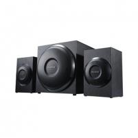 Kolonėlės Microlab M-110 2.1 Speakers/ 10W RMS (2,5Wx2+5W)/ Black/ Wooden