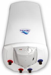 Kombinuotas greitaeigis vand. šildytuvas Elektromet NORDIC COMBI 2000 120L (sausas 2x1,2kW), su el. valdymu Elektriniai vandens šildytuvai