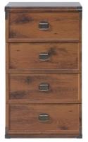 Komoda Indiana JKOM4S/50 ąžuolas suter Furniture collection in indiana