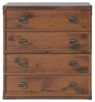 Komoda Indiana JKOM4S/80 ąžuolas suter Furniture collection in indiana