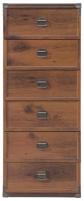 Komoda Indiana JKOM6S ąžuolas suter Furniture collection in indiana