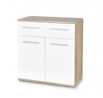 Komoda LIMA KM-1 ąžuolas sonoma/balta Furniture collection lima