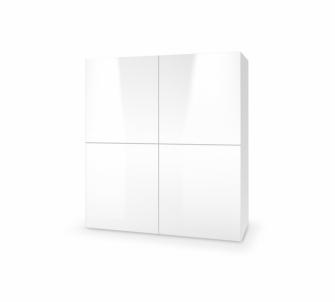 Komoda LIVO KM-100 balta Baldų kolekcija LIVO