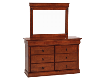 Commode su veidrodžiu Toscania Bedroom chests