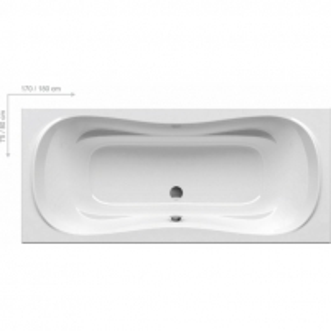 Kompektas: vonia Campanula II 180x80 (pilnas kompl.)