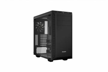 Kompiuterio korpusas be quiet! Pure Base 600, black, ATX, M-ATX, mini-ITX case