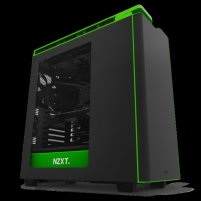 Kompiuterio korpusas NZXT computer case H440 black-green with window