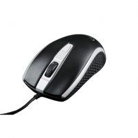 Kompiuterio pelė Gembird MUS-104-GR Optical mouse, No, Black/ grey, No, Wired