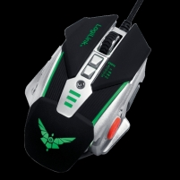 Kompiuterio pelė LOGILINK - USB Gaming Mouse with additional weights