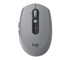 Kompiuterio pelė Logitech® Wireless Mouse M590 Multi-Device Silent - Mid Grey Tonal - EMEA
