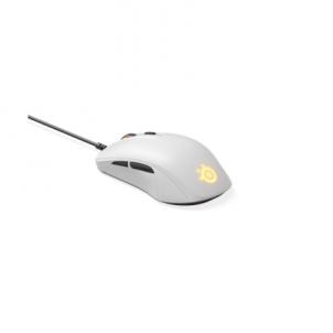 Kompiuterio pelė SteelSeries Gaming Mouse Rival 110, White. SteelSeries