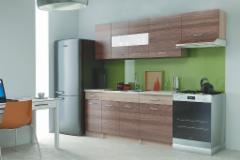 Virtuvės komplektas Alina 240 cm Virtuvės baldų komplektai