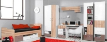 Komplektas Blog D Наборы мебели для молодого человека
