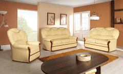 Komplektas Palermo 3RP+2RP+1 Dīvāni, dīvānu gultas