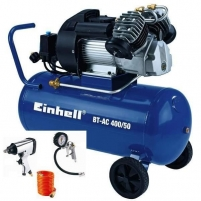 KOmpresorius Einhell BT-AC 400/50 SET Reciprocating compressor