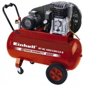 KOmpresorius Einhell RT-AC 400/100/10 D Stūmokliniai oro kompresoriai