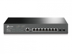 Komutatorius TP-Link T2500G-10MPS JetStream 8-Port Gigabit PoE+ L2 Managed Switch 2 x SFP