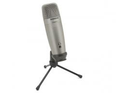 Kondensatorinis mikrofonas SAMSON C01U PRO USB Studio