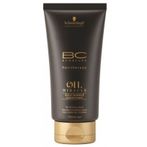 Kondicionierius plaukams Schwarzkopf BC Bonacure Oil Miracle Gold Shimmer Conditioner Cosmetic 150ml