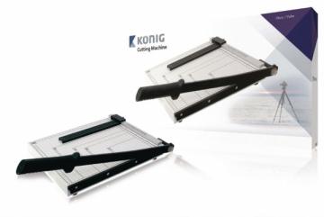 König kirpimo įrenginys A4 Popieriaus įrišimo aparatai, giljotinos