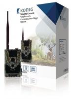 König žvėrių stebėjimo kamera su GPRS / MMS funkcija Medžioklės kameros
