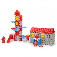 Konstravimo kaladėlės - gaisrinė 89 vnt | Waffle Blocks Fire and Rescue | Little Tikes Uzlikas un būvniecības rotaļlietas