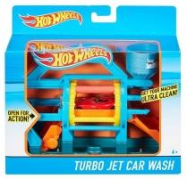 Konstruktorius / DWK99 Hot Wheels Turbo Jet Car Wash Playset Car racing tracks for kids