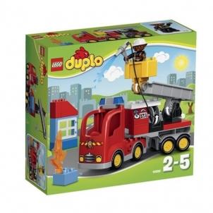 Konstruktorius 10592 LEGO Duplo gaisrininkų mašina, 2-5 m.