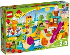 Konstruktorius 10840 LEGO® DUPLO Большой парк аттракционов, от 2 до 5 лет NEW 2017! LEGO и другие конструкторы